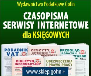 Wydawnictwo Podatkowe GOFIN.pl
